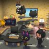 """【ポケ森】次回つり大会の""""黒猫""""に早くも期待度MAX!!金竿必須?!"""